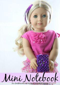 Doll Craft-A Mini Notebook — Doll Diaries