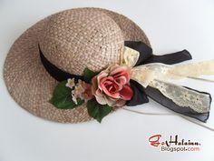Go Hálainn: DIY Mori Girl Straw Hat