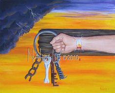 Take the Keys - Prophetic Art    ---    With All My Heart  -- 1710 1/2 25th Street - Snyder, Texas