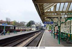 Sheringham Station on the North Norfolk Railway, Norfolk, England. - Stock Image