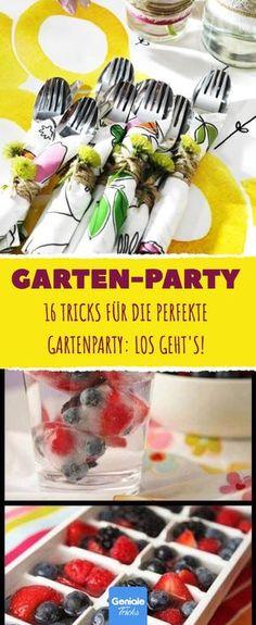 Sommerfest ❤ Gartenparty ❤ Ideen ❤ Deko ❤ DIY ❤ Schön