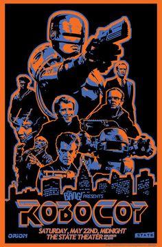 Robocop - alt poster of an underrated