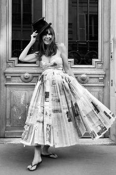A Parisian Ballgown On A Budget - A Shoot in Paris