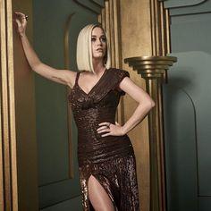 Katy Perry at the 2017 Vanity Fair Oscar Party Portraits