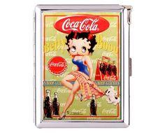 Betty Boop No.11 Metal Cigarette Case Wallet Lighter (cgc-0733)