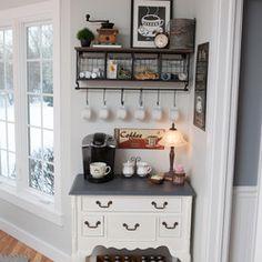 Coffee/tea station