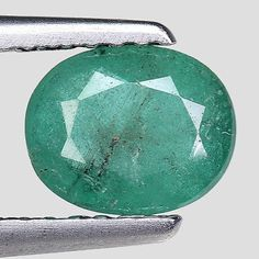 Other Emeralds 164398: 0.95Cts Green Oval Emerald Natural Loose Gemstone See Video -> BUY IT NOW ONLY: $71.25 on eBay!