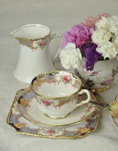 Place setting afternoon tea