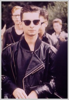 Dave OMGahan! Mercy his JPGaultier studded jacket is my fave #1 stylez from my era of da 80's...and *still* will Rock it!