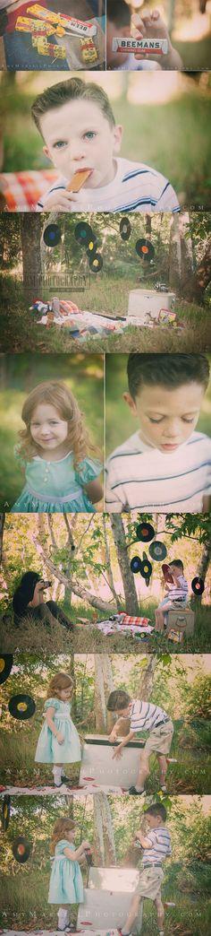 50's Kids Styled Shoot [Payson Children Photographer] - A Photography, Payson Photography, Payson Az, Family Portraits, Payson AZ Wedding Photography