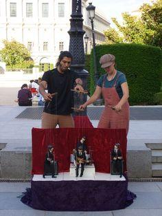 Street Performers, Madrid, Spain