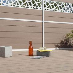 Clôture à composer composite Premium brun clair | Leroy Merlin Outdoor Decor, Composition, Decor, Home Decor
