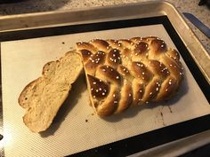 Swedish Vanilla Bread with a 9-strand braid and pearl sugar on top #homemadebread #bread #homemade #foodporn #recipes #desserts #chocolatebread #breakfast #Nestle