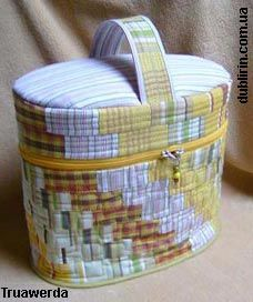 bag-top box with zipper - Dublirin-Шьем сами-Сумка-кофр