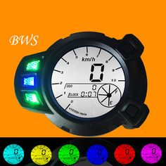 NEW Motorcycle meter refit 7 color LCD electronic meter  BWS ZUMA YW125 RSZ-100 moto meter