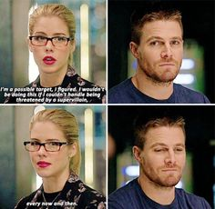 Arrow - Felicity & Oliver #4.6 #Olicity <3