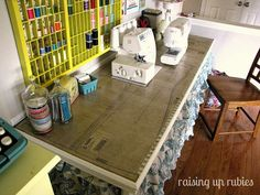 sewing pattern table