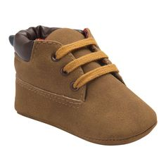 Bayi Bayi Yang Baru Lahir Anak Laki-laki Klasik Tampan Pertama Walkers Sepatu Bayi Bayi Balita Sepatu Bersol Lembut 15 Warna