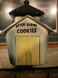 After School Cookies Cookie Jar by American Bisque