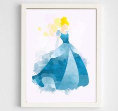 Disney: Cinderella Poster Digital Art Print. by geektragedy