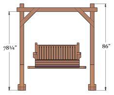 The finest best built Bench Swing Sets on the market. These lovely garden bench swings are truly built to last decades in any weather. Garden Swings, Backyard Swings, Pergola Patio, Balcony Garden, A Frame Swing Set, Swing Sets, Outdoor Wooden Swing, Modern Gazebo, Garden Bench Plans