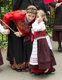Princess Martha Louise and Emma Tallulah during the celebrations of 2013 Norway National Day in London, England
