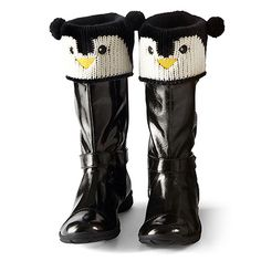 PFM Penguin Boot Toppers