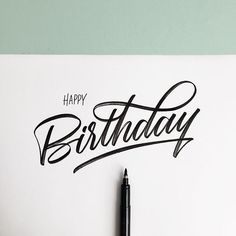 I Love Ligatures - Happy Birthday See this Instagram photo by @iloveligatures