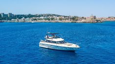 Rent your private yacht in Rhodes with Rhodes vacation! Аренда моторных яхт на острове Родос Greece, Boat, Vacation, Photo And Video, Instagram, Rhodes, Greece Country, Dinghy, Vacations