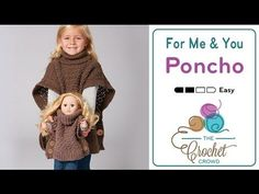 How To Crochet A Cape: Cozy Cowl Cape Poncho - YouTube