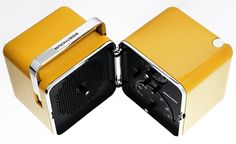 "1963_ Radio "" cube"" model TS 502 desing by Marco Zanuso and Richard Sapper | MDBA"