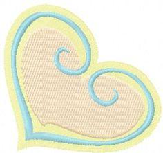 heart_free_machine_embroidery_design.jpg. Machine embroidery design. www.embroideres.com