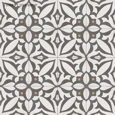 Cement Tile Shop - Handmade Cement Tile | Navy cream and grey