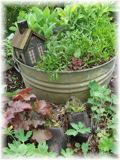 Garden Shed Washtub Garden 4.12