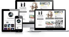 Drawfolio -- portfolio website
