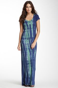 Tie-Dye Maxi Dress by Romeo & Juliet Couture on @HauteLook