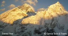 Trekking in Nepal, Everest Panorama Trekking, panoramic view, everest trekking - Samrat Tours & Treks