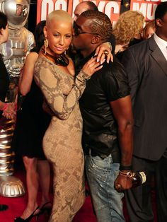 "Amber Rose Is Not Feeling Kanye West 'Drunk In Love"" Remix.....Log on to twanatells.com for more details..."