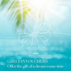 For the perfect holiday gift, look no further than the Grecian vouchers. So much more than the average package, it's a celebration for the senses via an unforgettable experience, the stuff that dreams coming true are made of… With safety and quality by Grecian Hotels, as always.⁠ . . . . . #GrecianSands #GrecianHotels #Cyprus #Summer #SummerVacation #SummerVibes #Beach #BeachLife #Sea #ViewGoals Grecian Sands, Grecian Bay, Park Hotel, Hotel S, Sands Hotel, Ayia Napa, True Gift, Wellness Spa, Five Star Hotel