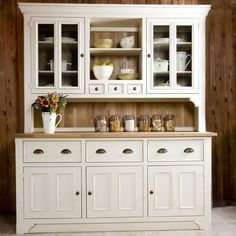 kitchen dressers :) I would live it red!