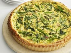 Ricotta, Ham and Scallion Tart Recipe : Food Network Kitchen : Food Network - FoodNetwork.com