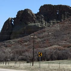 La Veta, Colorado is where CO-12 runs into US-160.