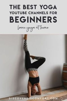 A quick look at the best channels for yoga on YouTube for beginners — after having done a whole bunch of videos. | best yoga youtube channels | yoga beginners learning | yoga beginners video | workouts at home | at home yoga workout | yoga workouts | how to start yoga | at home yoga for beginners | learn yoga at home #yoga #discoverdiscomfort Yoga Videos For Beginners, Yoga Sequence For Beginners, Yoga Workouts, Easy Workouts, Exercises, 10 Minute Morning Yoga, Yoga Youtube, Travel Workout, How To Start Yoga