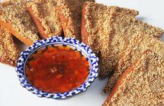 La Cuisine de Bernard : Toasts Frits aux Crevettes
