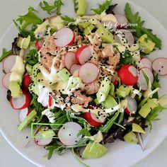 Snack Recipes, Healthy Recipes, Snacks, Lidl, Atkins, Finger Foods, Cobb Salad, Salads, Food And Drink