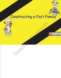 Fact Families Smartboard product from Kestners-Kreations on TeachersNotebook.com