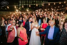 sparkler photo wedding-  Toronto wedding venue - toronto wedding - modern wedding- airship37
