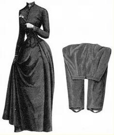 1887 - tenue d'équitation