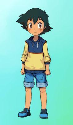 Little Ash Ketchum ^.^ ♡