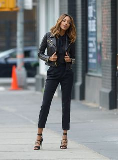 Jourdan Dunn knows how to own these mean streets in NYC.